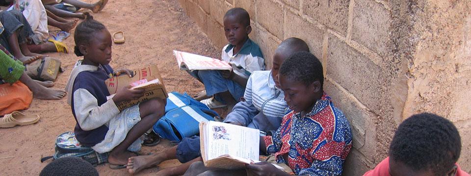 Page des projets d'Enfants du Monde au Burkina Faso