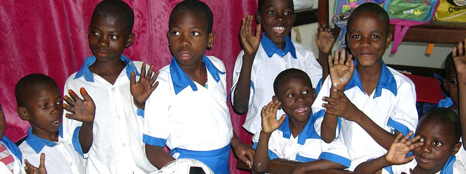 Page de recherche des enfants adoptés grâce à Enfants du Monde