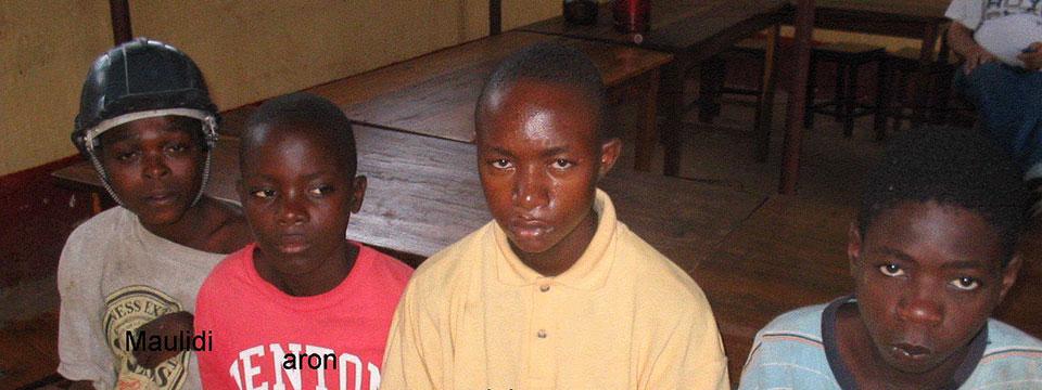 Page des projets d'Enfants du Monde à Haïti
