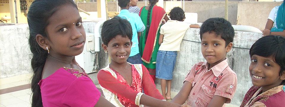 Page des projets d'Enfants du Monde en Inde