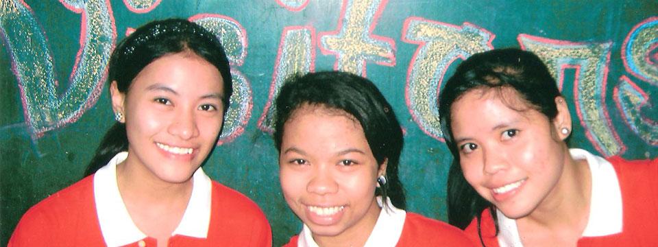 Page des projets d'Enfants du Monde aux Philippines
