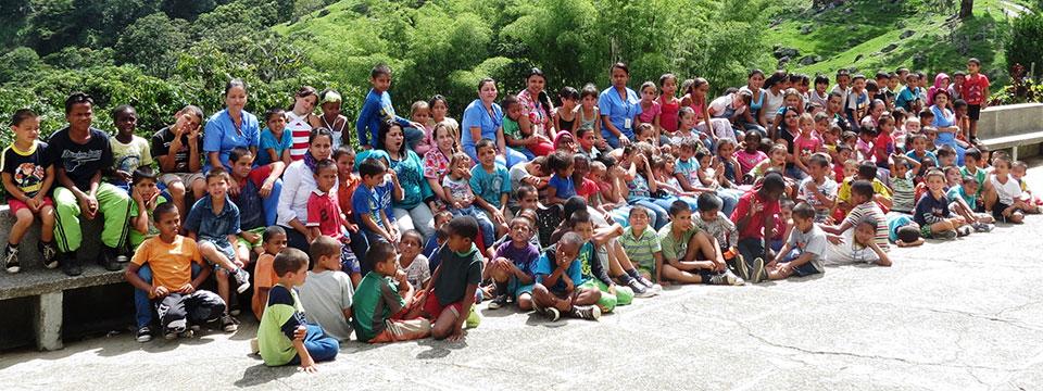 Page des projets d'Enfants du Monde en Colombie