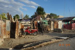 Les  bidons-villes à Haïti