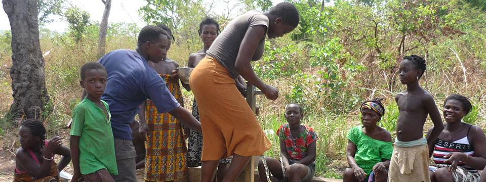 Page des projets d'Enfants du Monde au Togo