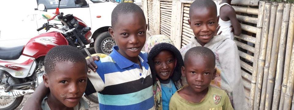 Page des projets d'Enfants du Monde au Rwanda
