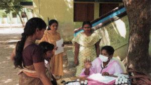 Aide médicale aux enfants de la région de Madurai en Inde