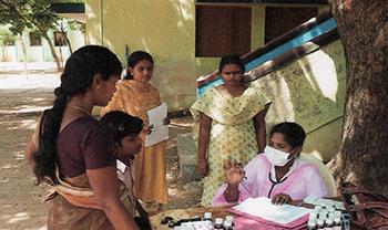 Sécheresse dans la région de Tiruvannamalai (Inde du Sud)