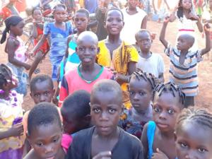 Les enfants des écoles du Sahel, au Burkina-Faso