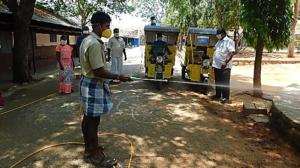 Equipement technique : achat d'un équipement de stérilisation pour le village